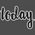 Today - word art