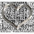 Metal Calendar Marker - heart