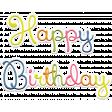 Birthday Word Art (3)
