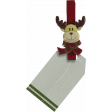 Christmas clothespin with tag (2)
