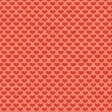 Delish Pattern Paper (Red Hearts)