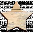 Selfie Time Wood Star