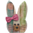 Wooden Easter Bunny (02)