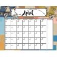 Around the World - April Calendar