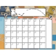 Around the World - Blank Calendar