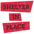 Shelter in Place - Word Strip 07