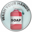 Wash Your Hands - soap flare
