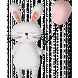 Bunny with Balloon