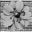 Fabric Flower 09 (template)