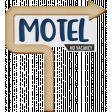 Around The World Motel Sign