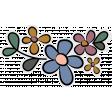 Vintage Memories (flower sticker 01)