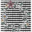 Vintage Memories (wreath sticker 01)