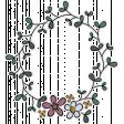 Vintage Memories (wreath sticker 02)