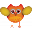 Halloween Mix And Match Pack 03 - owl 01