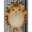 Autumn Wind Elements - hedgehog 01