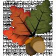 Autumn Wind Elements - leaf 09