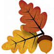 Autumn Wind Elements - leaf 10