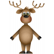 Christmas Cuties Mini - deer 02