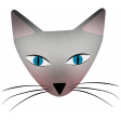Everyday Is Caturday Kit - cat head 05