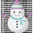 Snow Beautiful (Kit) - snowman 02