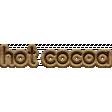 Snow Beautiful (Wood) - Wordart hot cocoa