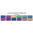 Colour Palette Template (12 colours)