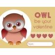 Owl Valentine Card 01