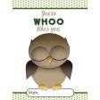 Owl Valentine Card 06