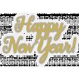 Happy New Years Word art