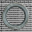 Round Denim Frame