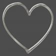 Steel Heart Frame