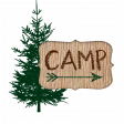 Camp embellishment