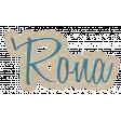 'Rona wordart