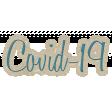 COVID-19 Word Art