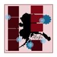 Layout Template: USA Map - Alaska