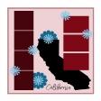 Layout Template: USA Map – California