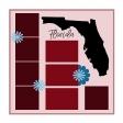 Layout Template: USA Map – Florida
