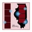 Layout Template: USA Map – Illinois