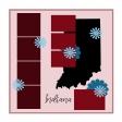 Layout Template: USA Map – Indiana