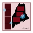 Layout Template: USA Map – Maine