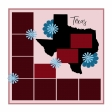 Layout Template: USA Map – Texas