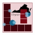 Layout Template: USA Map – Virginia