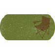 Camping Life Label: Lawnchair