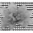 Burlap Flower Template 3