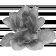 Burlap Flower Template 6