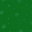 Christmas Snowflake Green