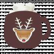 Reindeer Cocoa Mug