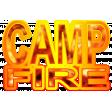 Campfire Word Art