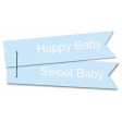 Baby Ribbon Blue