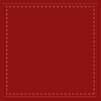Stitched Border Red Paper